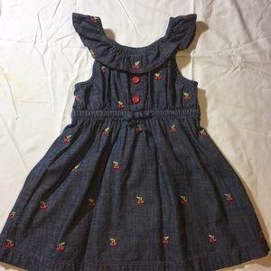 Gymboree Cherry Jean Dress